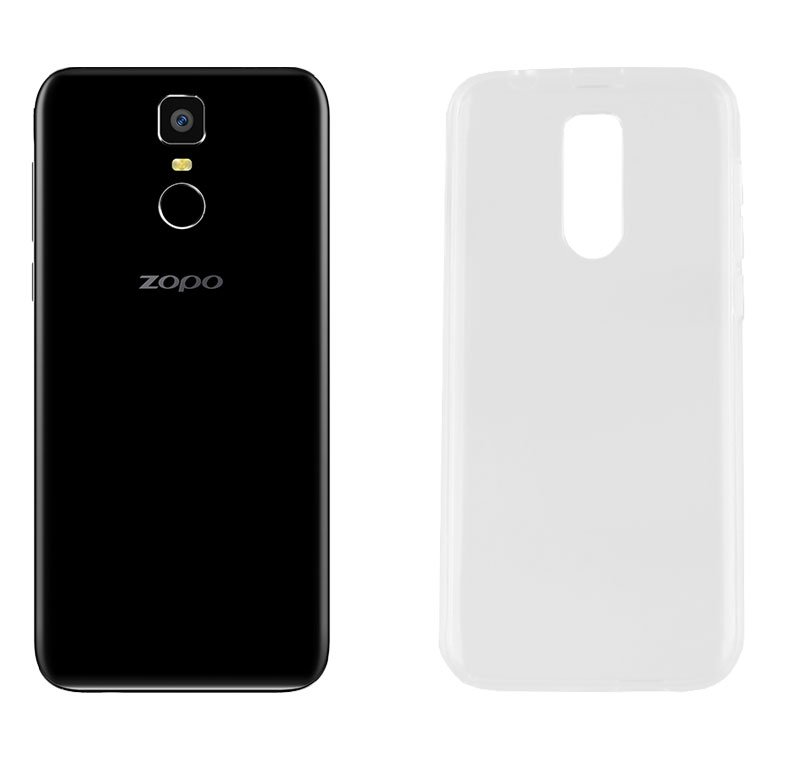 CASE ZOPO FLASH X2 CLEAR AIR FACEPLATE TRANSPARENT