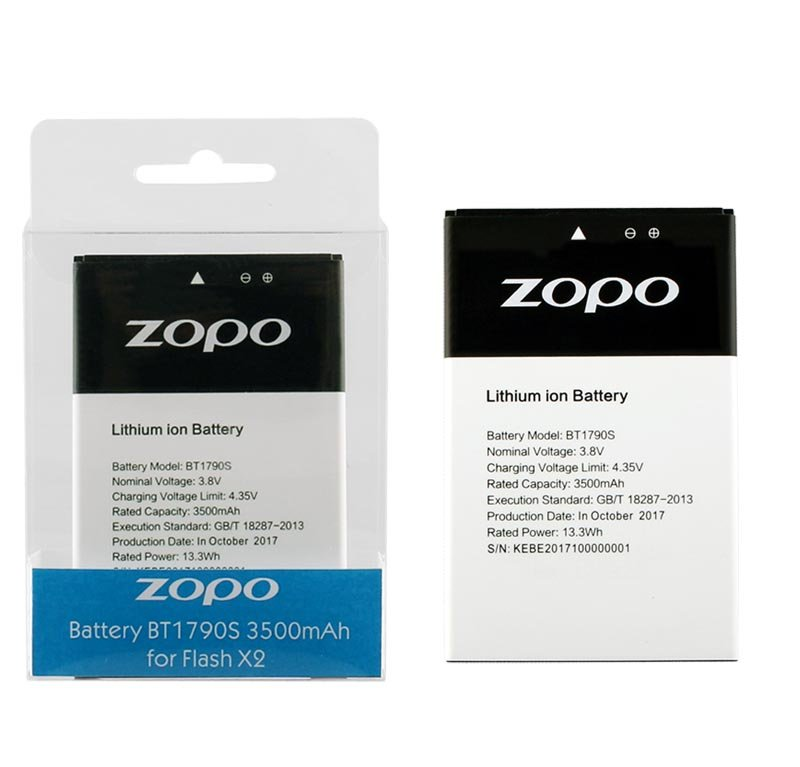 BATTERY ZOPO FLASH X2 ZP1795 5.99″ 3500mAh