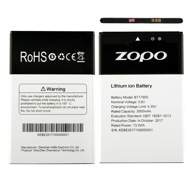 ΜΠΑΤΑΡΙΑ ZOPO FLASH X2 ZP1795 5.99″ 3500mAh