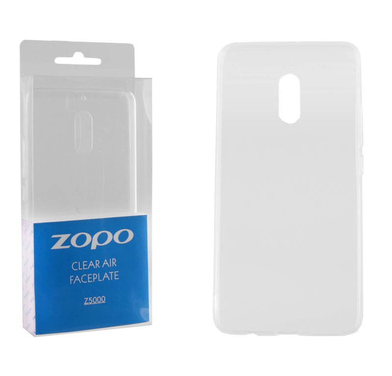 CASE ZOPO Z5000 CLEAR AIR FACEPLATE TRANSPARENT