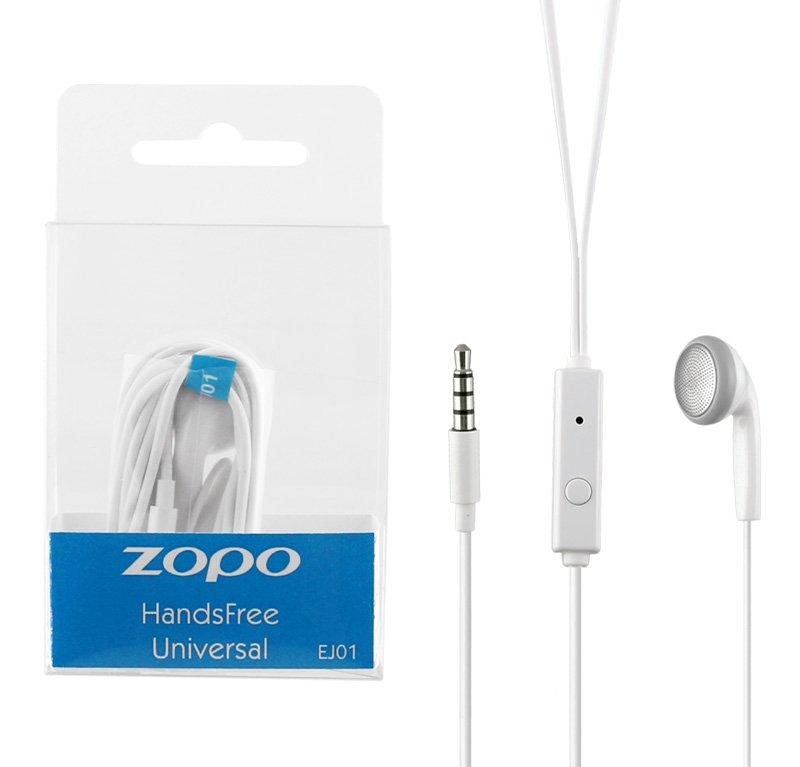 H/F STEREO ZOPO EJ01 C5i ZP567 3.5mm 1.2M WHITE