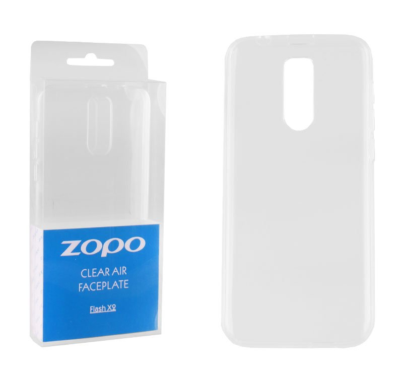 ΘΗΚΗ ZOPO FLASH X2 CLEAR AIR FACEPLATE TRANSPARENT